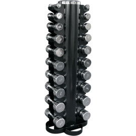 Body-Solid Bodytrading Set 20 chrome dumbbells with rack CHDUSET