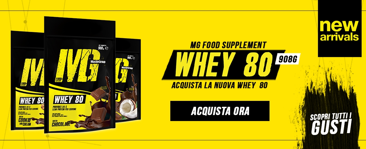 Whey 80 New product