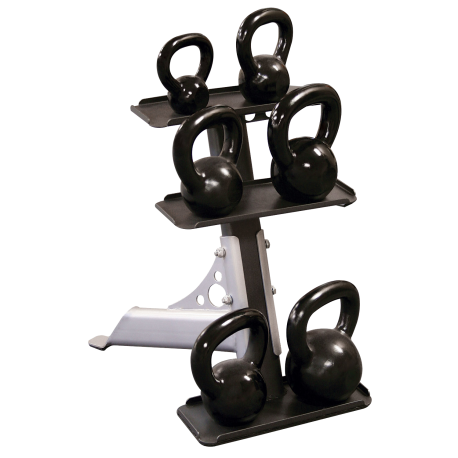 Body-Solid 3-Tier Kettlebell Rack GDKR50