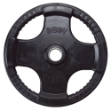 Body-Solid Olympic Rubber Disk Black 1.25Kg ORTK1,25