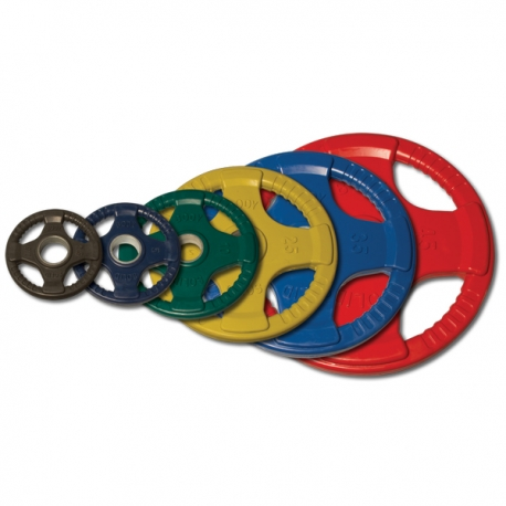 Body-Solid Olympic Rubber Disk Colorato ORCK20