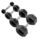 Body-Solid Pro Style Rubber Dumbbell Hex HEXRU