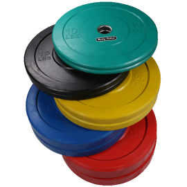 Body-Solid Olympic Bumper Plates Colorato OBPCK