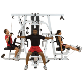 Body-Solid Multigym Professionnel Leg Press EXM4000S
