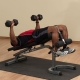 Body-Solid Flat Incline Decline Bench GFID31
