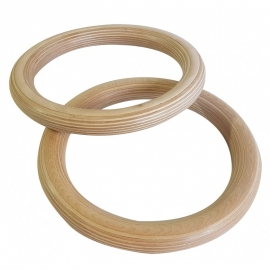 Sveltus Wooden Gym Rings SV3930