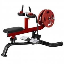 Steelflex Seated Calf Press Machine PLSC - Black