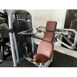 Technogym Shoulder Press - Selection - Colorazione Silver/Bordeaux  (Ricondizionato)